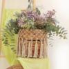 Cestos de gran tamaño con flores secas, diferentes modelos según stock.
