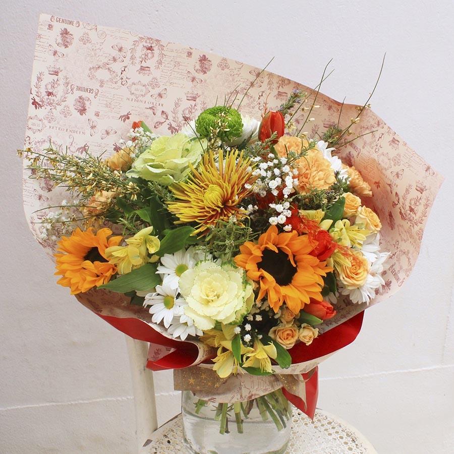Bouquet primaveral de flores